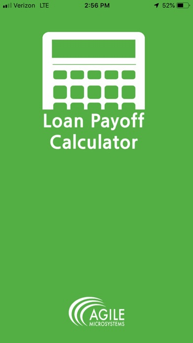 Loan Payoff Calculator screenshot one