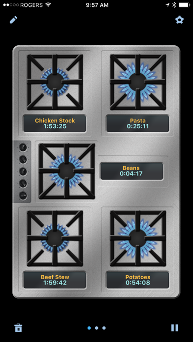 Kitchenpad Timer review screenshots