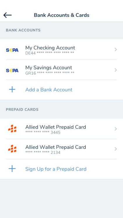 Allied Wallet eWallet
