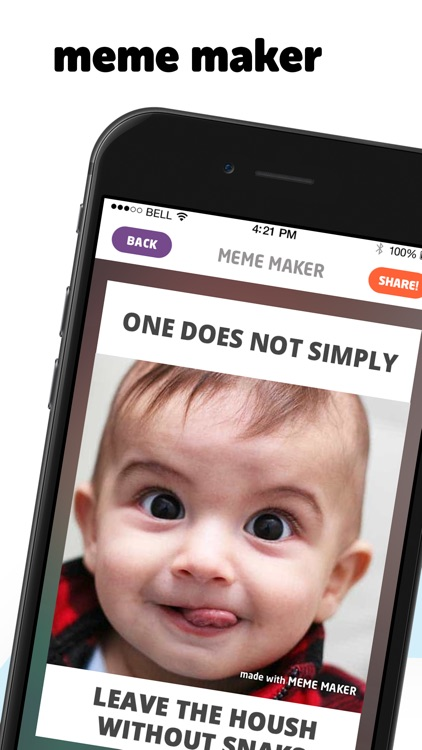 MEME Maker` screenshot-0