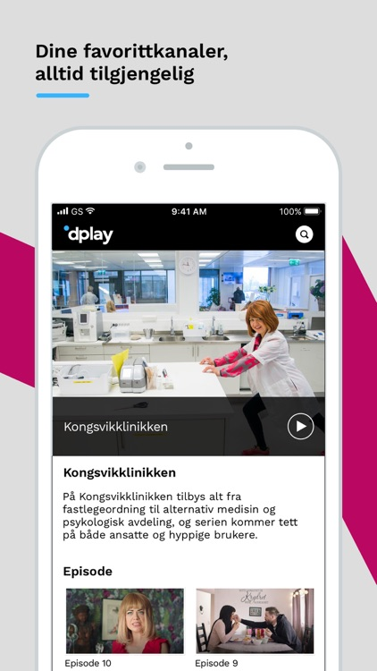 dplay - TV, serier og sport
