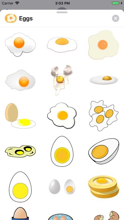Lotsa Egg Stickers