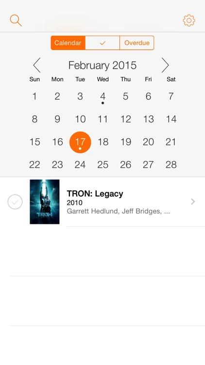Movieday: your movie calendar