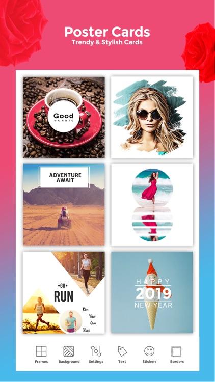 Frames - Picture Collage Maker screenshot-3