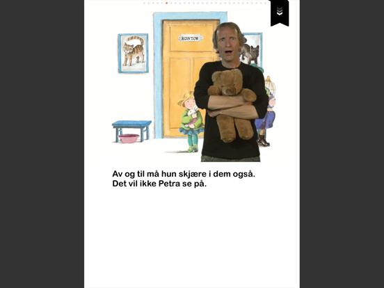 Petra vil bli dyrlege iPad