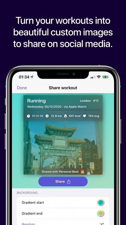 Personal Best Workouts screenshot-2