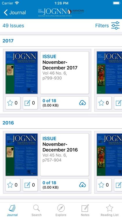 AWHONN Journals screenshot-3