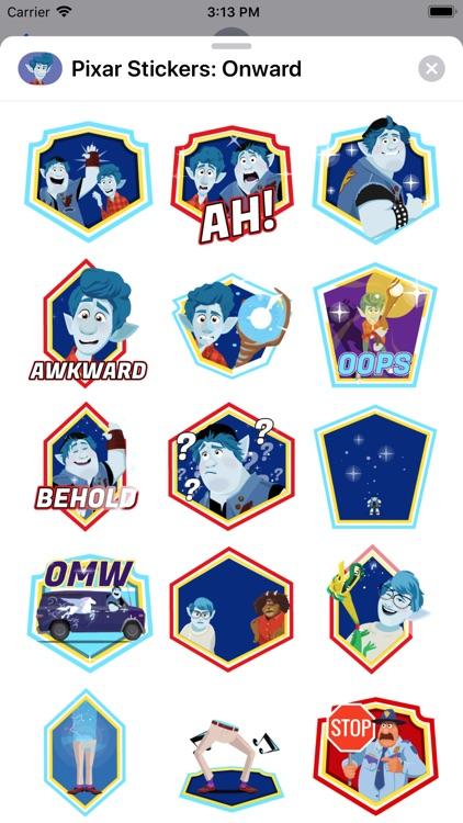 Pixar Stickers: Onward screenshot-3