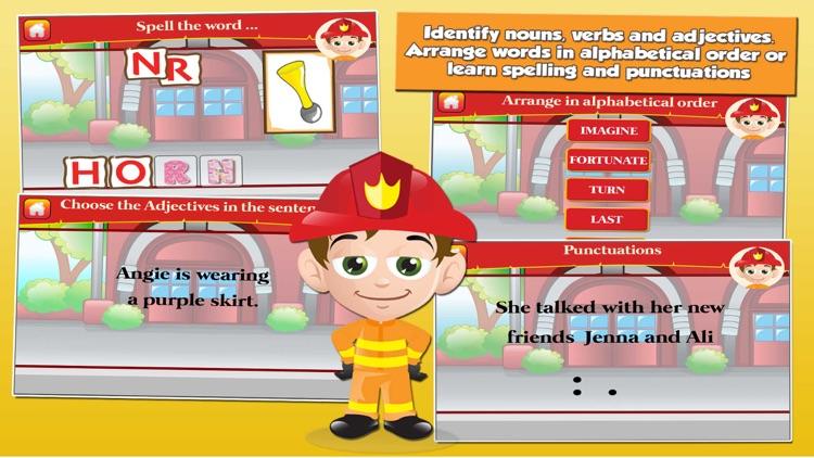 Fireman Grade 2 Kids Games screenshot-3