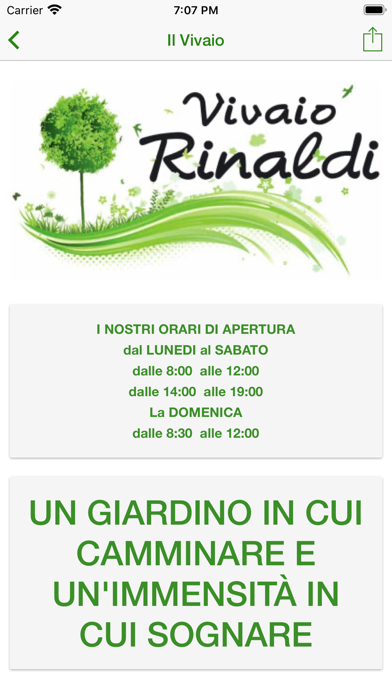 Screenshot of Vivaio Rinaldi2