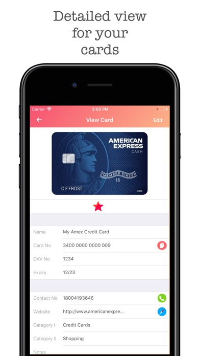 Screenshot for iWallet Pro - Credit Wallet in United States App Store