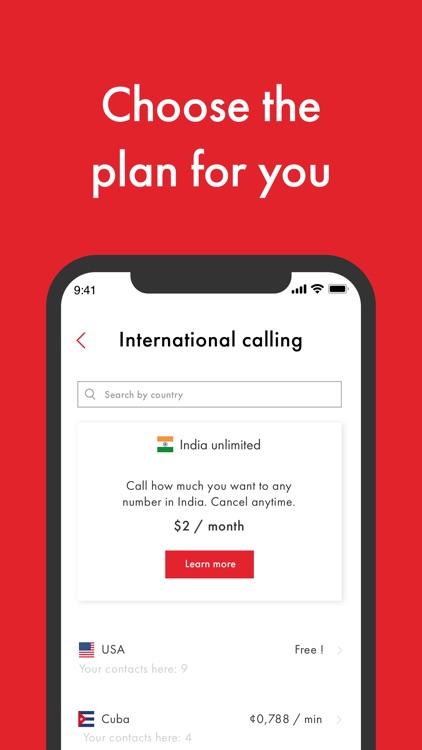 Rebtel: International Calling screenshot-4