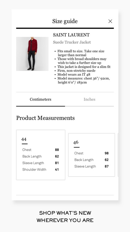 MR PORTER l Designer Clothes screenshot-4