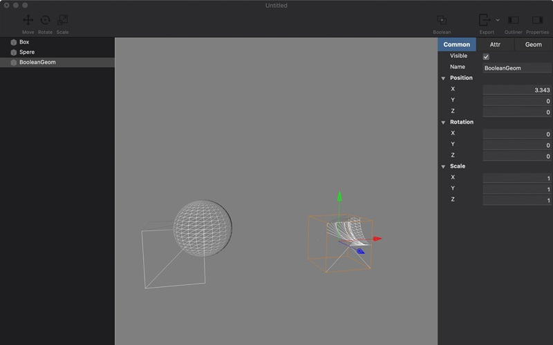 SceneStudio скриншот программы 5