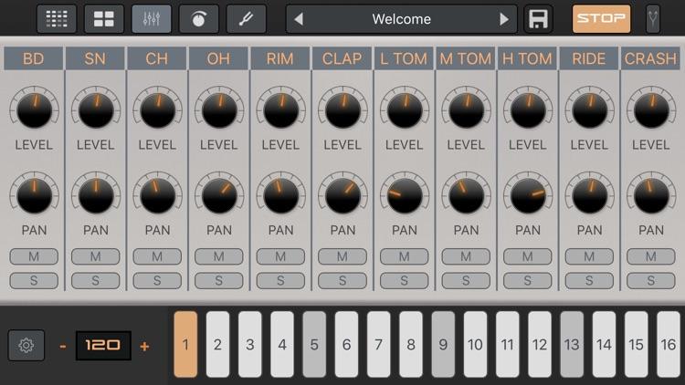 LE04: AR-909 Drum Machine screenshot-4