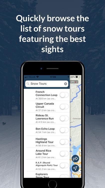 Go Snowmobiling Ontario 2018! screenshot-3