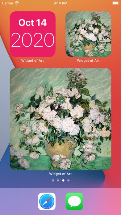 Widget of Art - Mini screenshot 1
