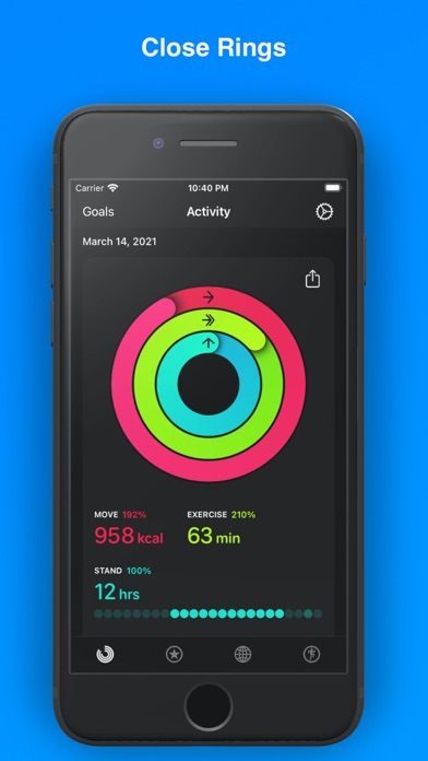 Activity+ Screenshots
