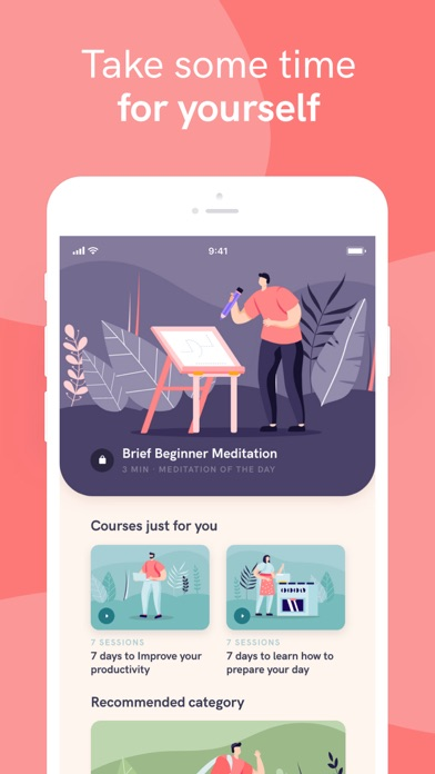 Meditation App på PC
