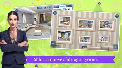 Screenshot for Design My Room: Fashion in Italy App Store