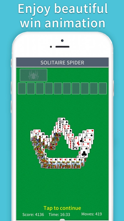 Spider Solitaire Classic Pro screenshot-4