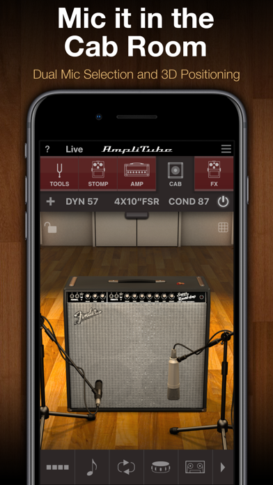 AmpliTube Screenshots