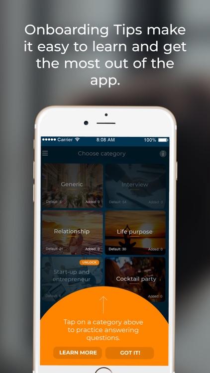 Question Roulette App screenshot-6