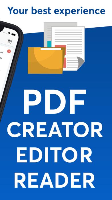 PDF Editor - Creator, ReaderScreenshot of 2