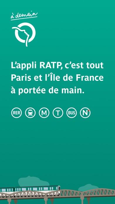 RATP - Bus Métro RER à Paris