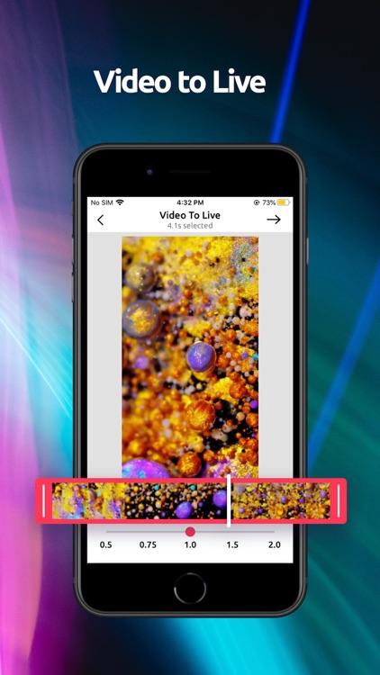 Live Wallpaper 4K & Icon Theme screenshot-3