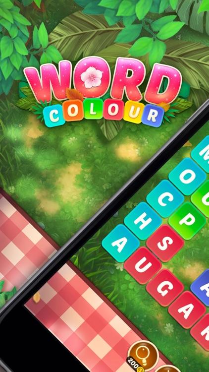 Word Colour-Puzzle Games