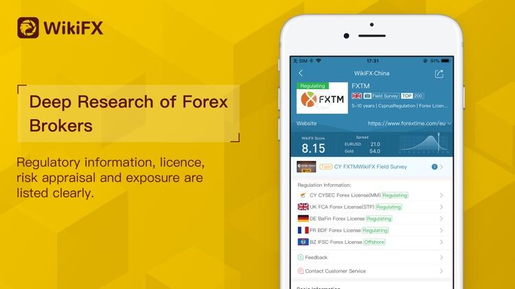 WikiFX-Forex inquiry platform
