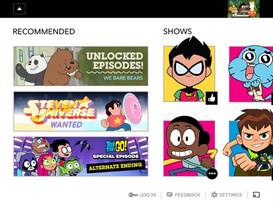 Cartoon Network tablet App screenshot 3