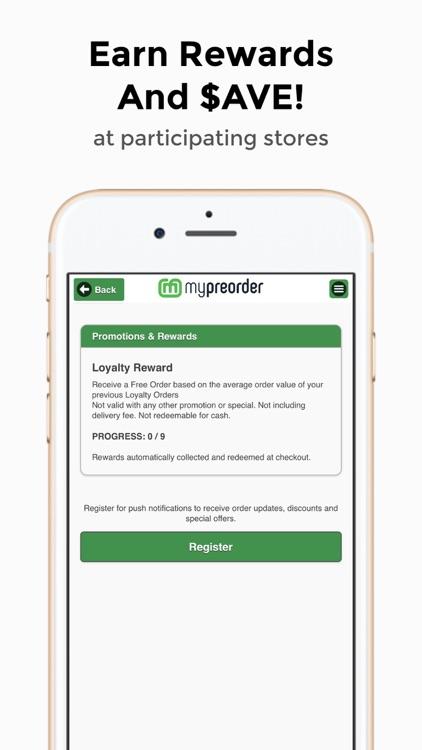 mypreorder online ordering screenshot-3