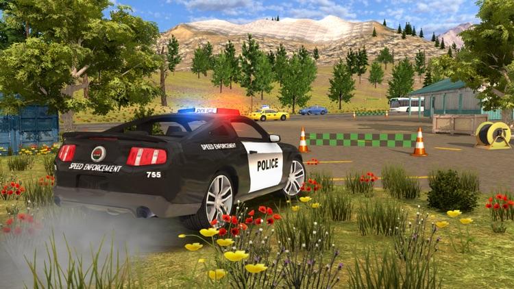 Police Car Chase Cop Simulator screenshot-4