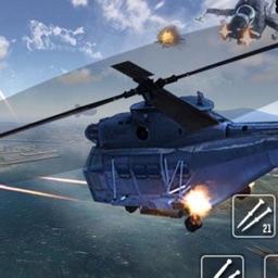 Modern Gunship Shooting Battle