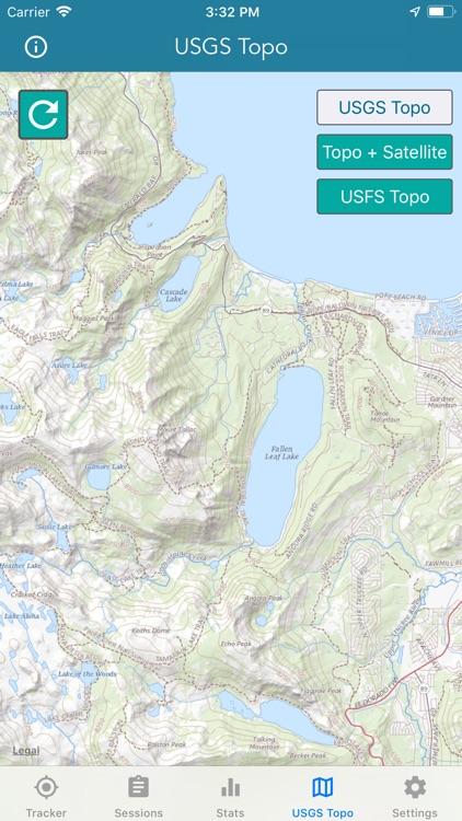 Topo Map & Hiking Tracker screenshot-4