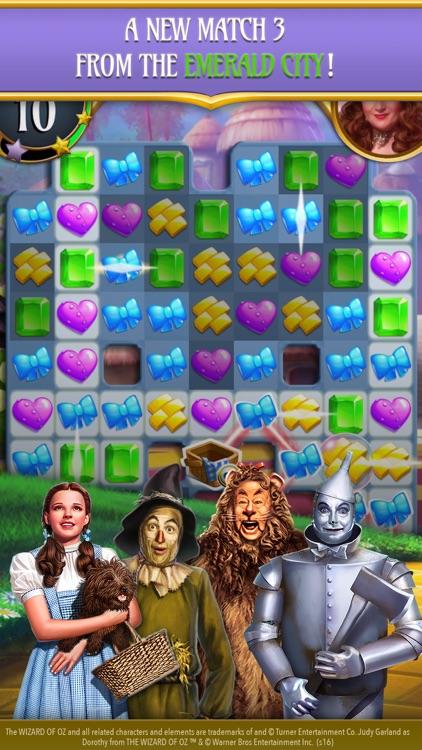 The Wizard of Oz Magic Match 3 screenshot-0