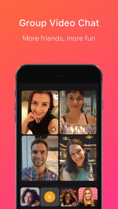 Screenshot for JusTalk Video Chat & Messenger in United States App Store