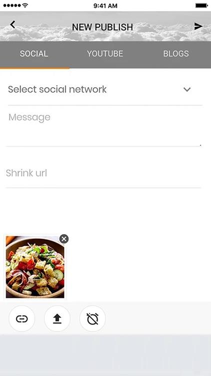Streambubble Social Media Tool screenshot-4