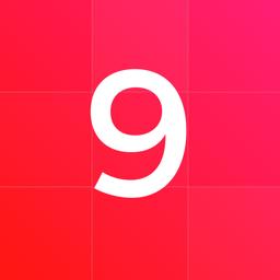 Ícone do app Top Nine for Instagram 2018