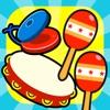 リズムあそびゲーム(子供向け) - iPhoneアプリ