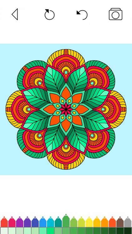 Mandala Coloring Pages Games screenshot-8