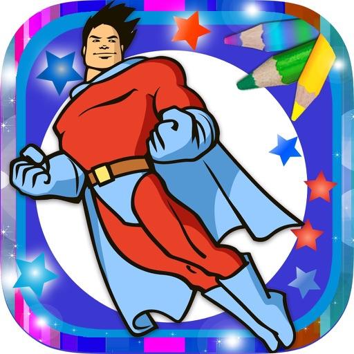 Paint Magical Superheroes