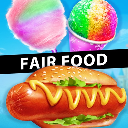 Carnival Fair Food Maker Games iOS App