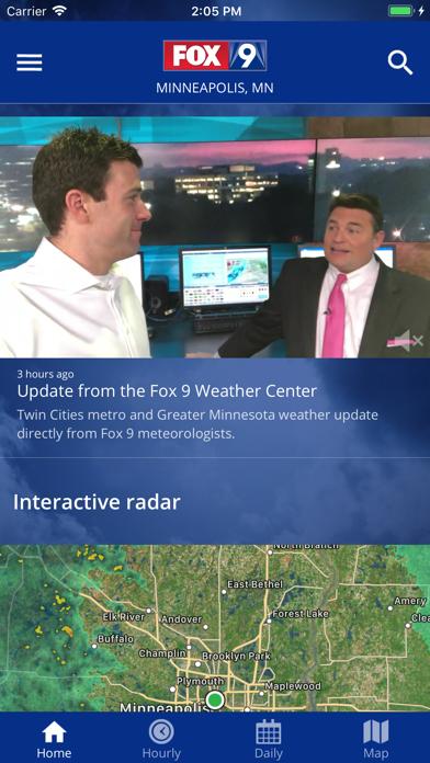 FOX 9 Weather – Radar & Alertsのおすすめ画像1