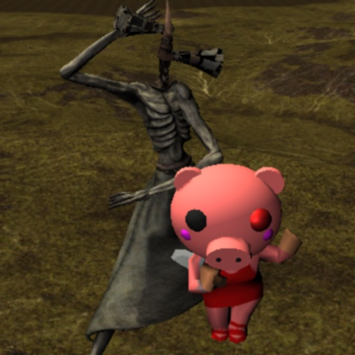Piggy Siren at Scary Head iOS App