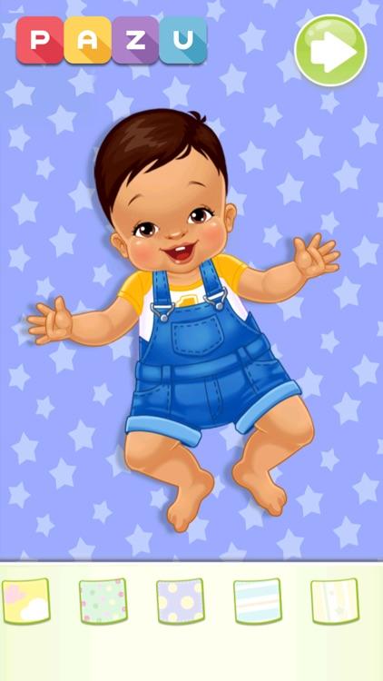 Chic Baby-Dress up & Baby Care screenshot-4