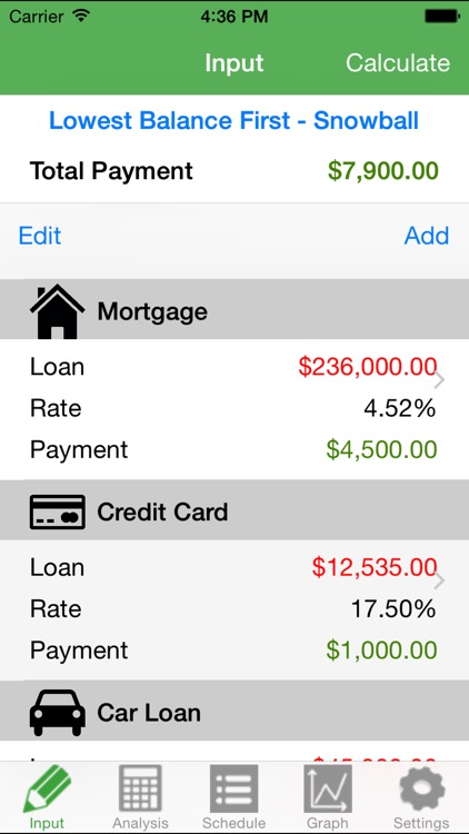 Debt Free Calculator screenshot-4
