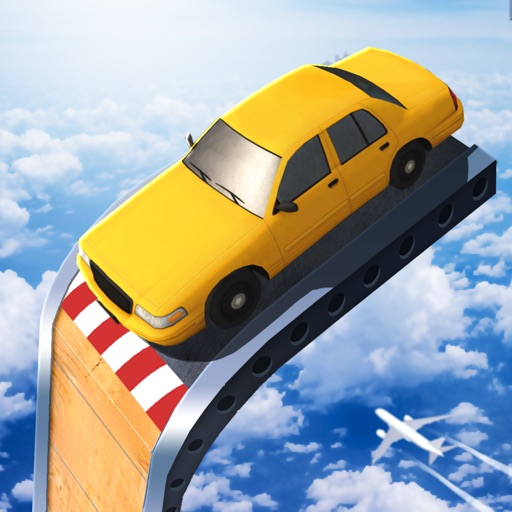 Mega Ramp Car Jumping icon